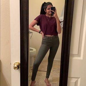 Hollister Stretch High Rise Super Skinny Jeans